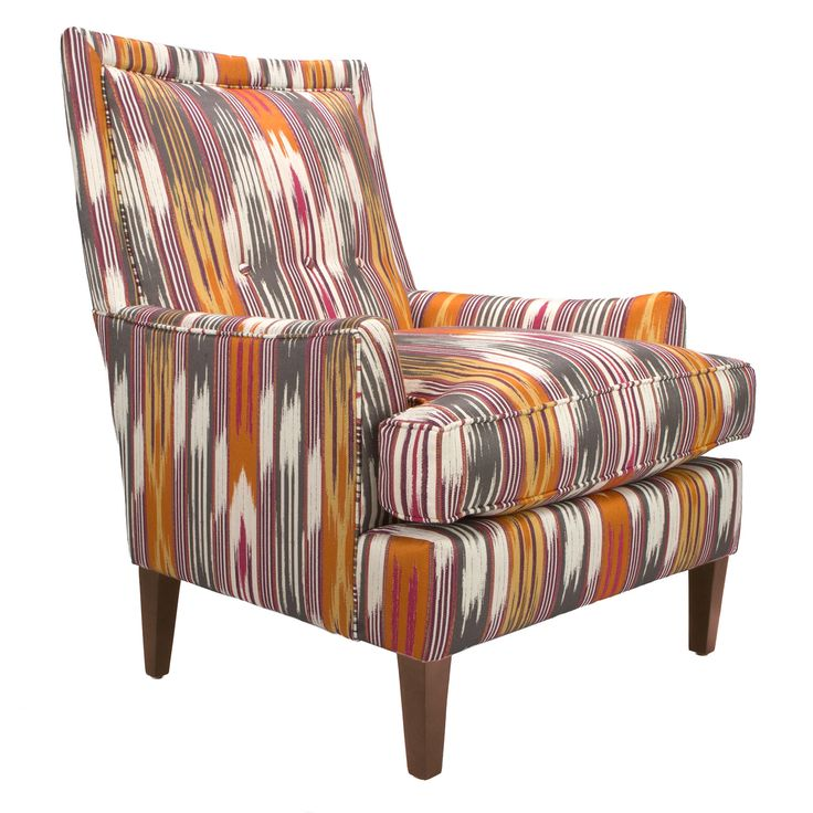 Get comfy in the snug embrace of the Southwestern High-back Lounge, a chair built for lasting comfort in a stylish, modern world. Its generously cushioned, high backrest and wide seat cushion combined ...  Find the Southwestern High-Back Lounge Chair, as seen in the Bohemian Sanctuary Collection at http://dotandbo.com/collections/bohemian-sanctuary?utm_source=pinterest&utm_medium=organic&db_sku=93112