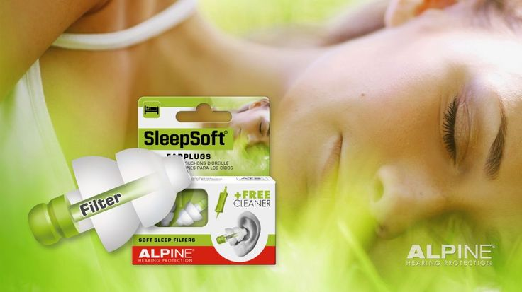Alpine Product Range 2015! SleepSoft are the ideal earplugs for sleeping and to block snoring. The only ear plug with soft filters. Easy to insert, fits in every ear and are reusable.