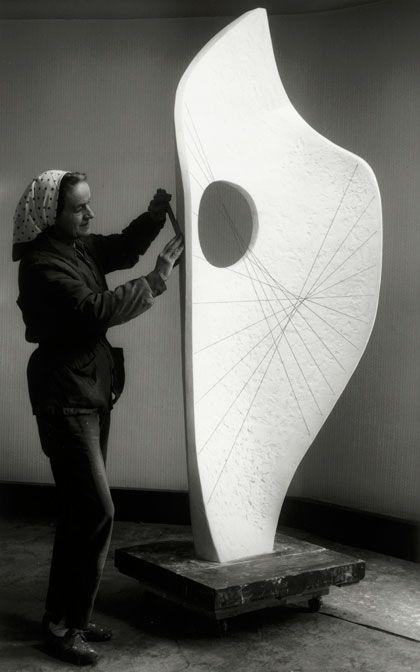 Barbara Hepworth - Curved Form (Bryher II), Bronze, 1961