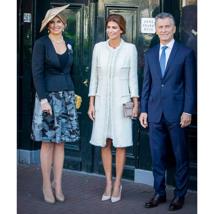 Queen Maxima finds style pal in Argentina's first lady Juliana Awada - Foto  4