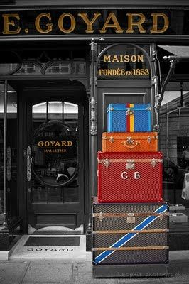The most luxurious bags and luggage - Goyard - Malletier - Paris