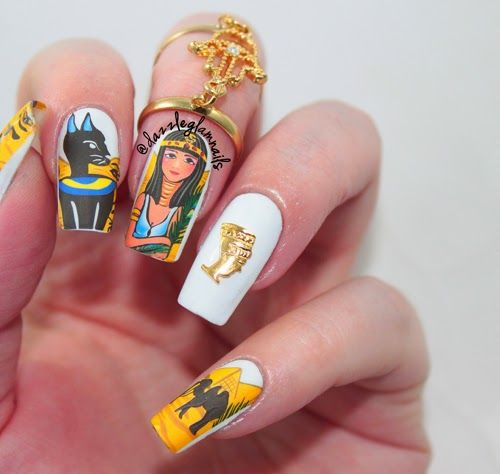 853 best Nail Art - Flowers and Nature images on Pinterest   Nail ...