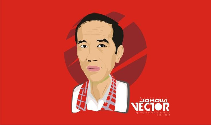Karikatur presiden jokowi