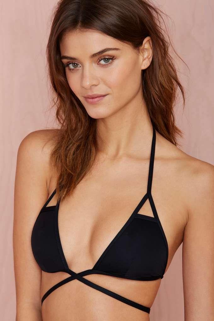 Vitamin A Serra Keyhole Wrap Top - Bikinis | Swimwear | Miami Vices | Swimwear | Summer Essentials | Swim | All