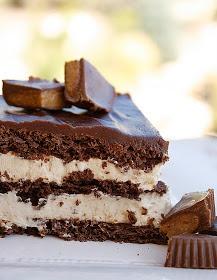 Purple Chocolat Home: Peanut Butter Chocolate Eclair Dessert & A Winner