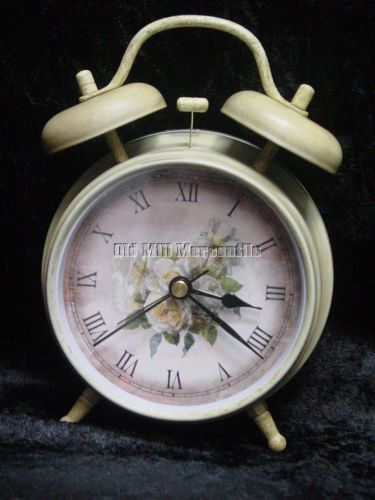 Shabby-shic-Vinatage-Victorian-style-battery-operated-bedside-alarm-clock
