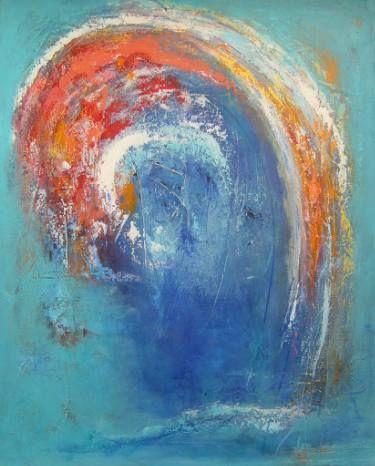 "Saatchi Art Artist Doris Duschelbauer; Painting, ""El Salto"" #art"
