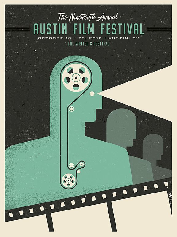 austin film festival poster. benjamin garner.