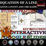 Writing linear equations in slope-intercept form examples,