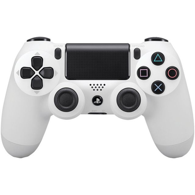 100% GENUINE For SONY PS4 DUALSHOCK 4 CONTROLLER BRAND NEW ORIGINAL WHITE BLACK AND RED FREE SHIPPING US $73.99 To Buy Or See Another Product Click On This Link  http://goo.gl/EuGwiH
