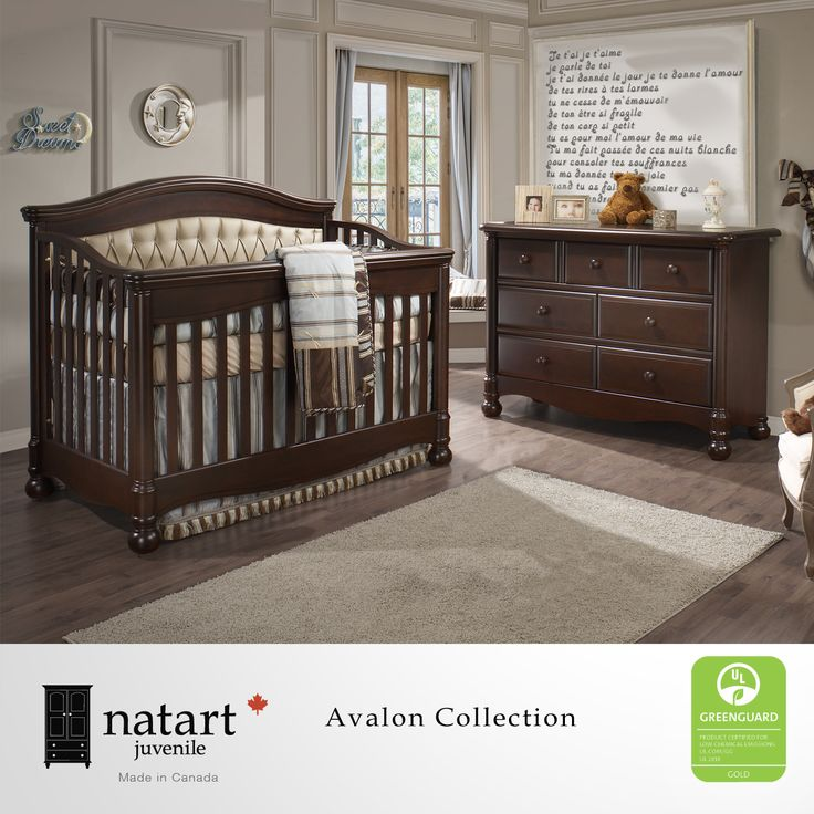 This Unisex Nursery Furniture Collection Has A Majestic Presence That  Boasts A Robust One Piece Column With Bun Foot And Solid Wood Composition.