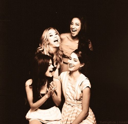 Ashley Benson, Shay Mitchell, Lucy Hale and Troian Bellisario