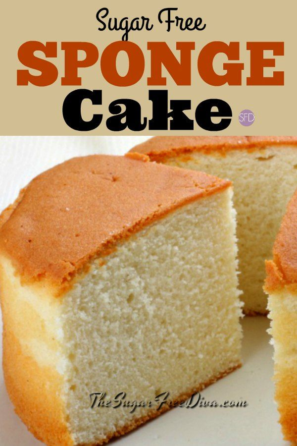 This Sugar Free Sponge Cake Recipe Is Actually Easy To Make