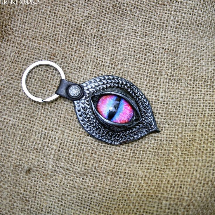 Dragon evil eye key fobs