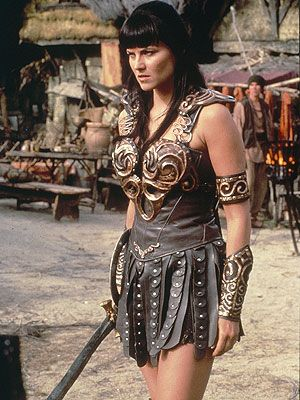 XENA: WARRIOR PRINCESS (1995-2001) STARRING Lucy Lawless  <3 her!! one of my childhood shows, yes childhood!!