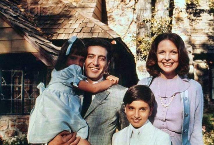 """Al Pacino y Diane Keaton en """"El Padrino Parte II"""" The Godfather Part II"""