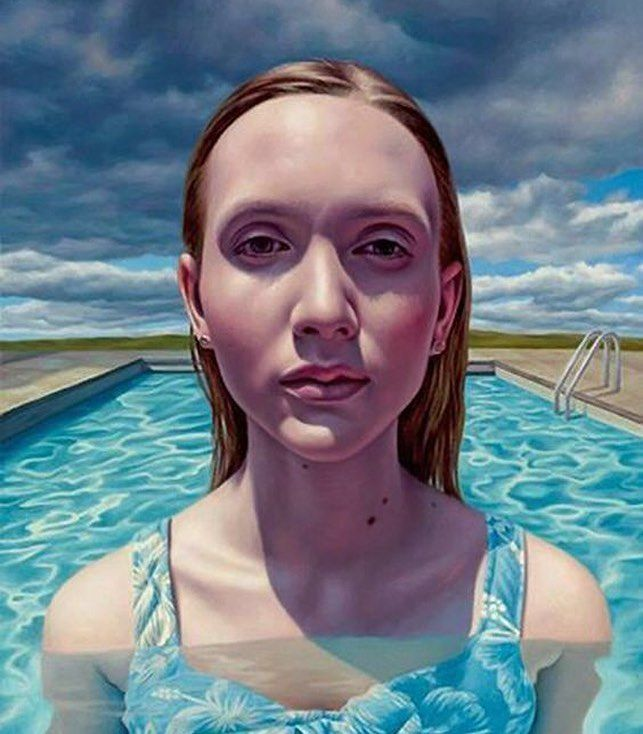 'Approaching Storm' by Alex Gross. Alex Gross is a visual artist currently working in Los Angeles California. He specializes in oil paintings on canvas whose themes include globalization commerce great beauty dark mayhem and the remorseless passage of time. Alex graduated in 1990 from Art Center College of Design in Pasadena California. He currently works in the Pop Surrealism genre. 'Приближение бури' работа Алекса Гросса. Алекс Гросс визуальный художник в настоящее время работающий в…
