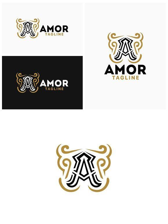 letter a logo template swirl design logo templates templates logos