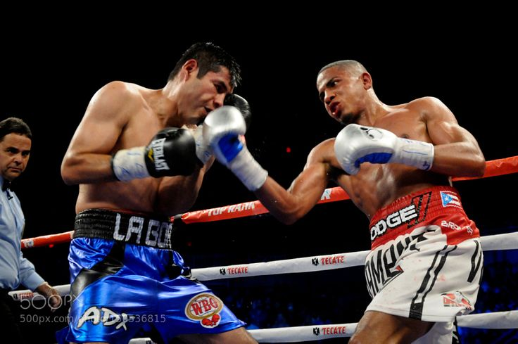 Verdejo wins in the april 16th edition of Solo Boxeo Tecate on Univision. by PeterAmador