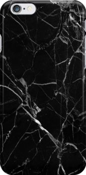 Black Marble Snap Case for iPhone 6 & iPhone 6s