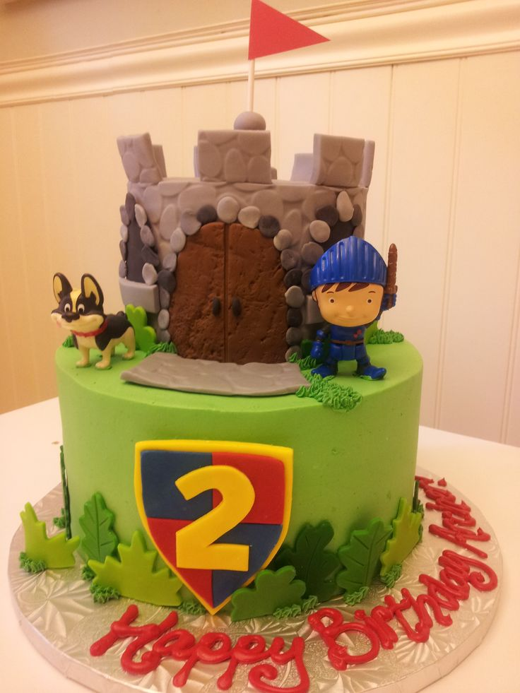 Mike The Knight Birthday Picture For Cake