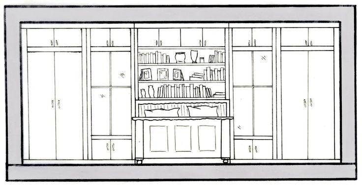 Drawings Elevation Bathroom