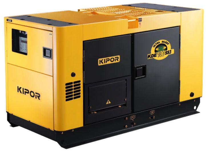 Generator curent Kipor Kde 100 SS3 (64 kW)