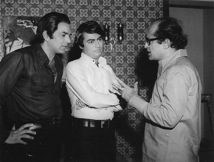 """200 Likes, 4 Comments - muvyz.com (@muvyz) on Instagram: """"#muvyz062917 #bollywoodflashback Dharmendra, Tariq Khan and Nasir Hussain during the making of…"""""""