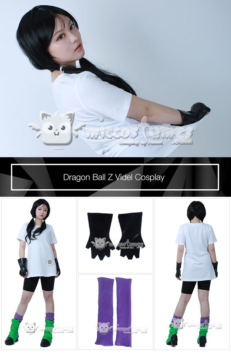 Dragon Ball Z Videl Cosplay Costume