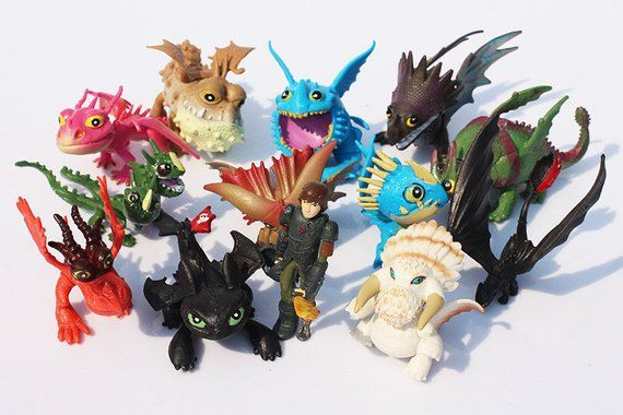 How To Train Your Dragon Set Of 13 2 3 Birthday Cake Topper