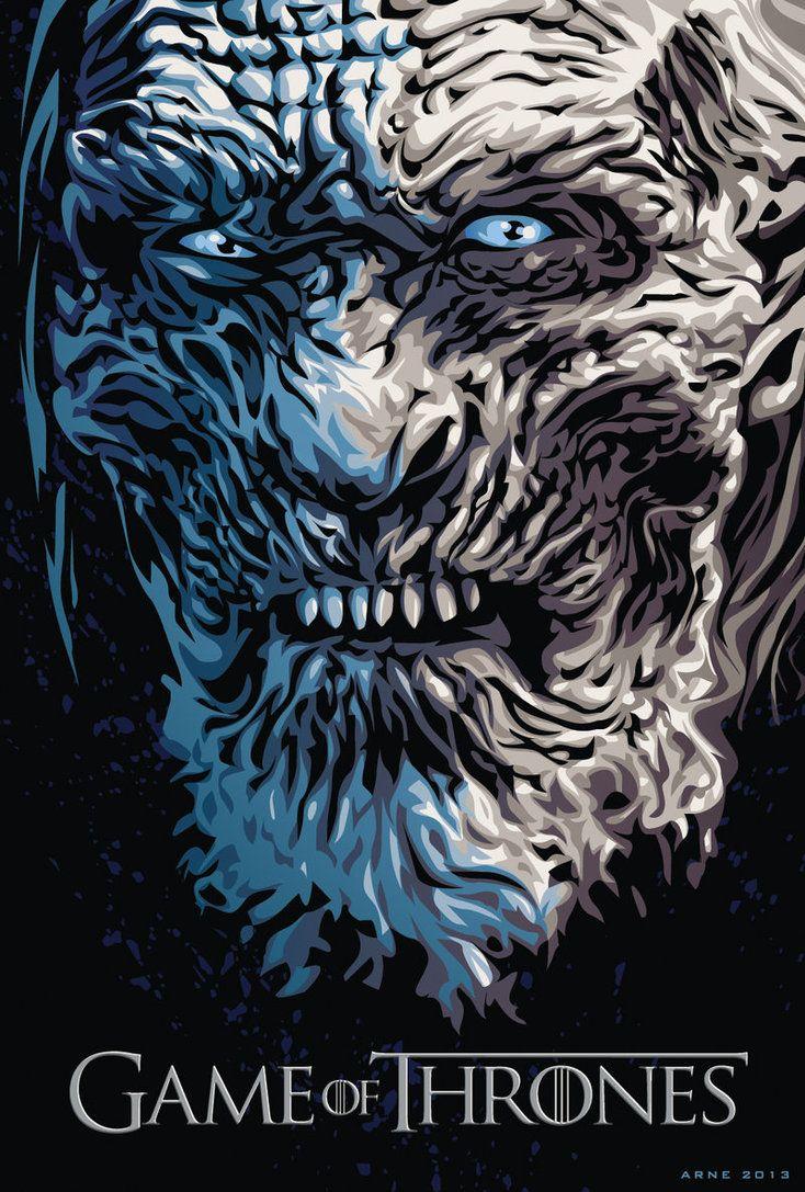 White Walker - Game of Thrones - ratscape.deviantart.com____©____!!!!