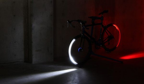Tron-Like Lights for your Bicycle