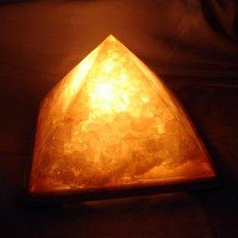 Orgonic Cheope's Pyramid Lamp