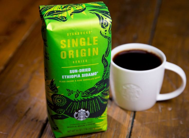 Starbucks Single-Origin Sun-Dried Ethiopia Sidamo coffee is the first in a series of whole bean coffees available for a limited time in Starbucks stores in the U.S. and Canada and online.