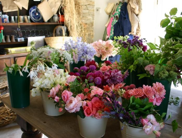Secrets of Growing Your Own Wedding Flowers. Great ideas for cutting gardens.