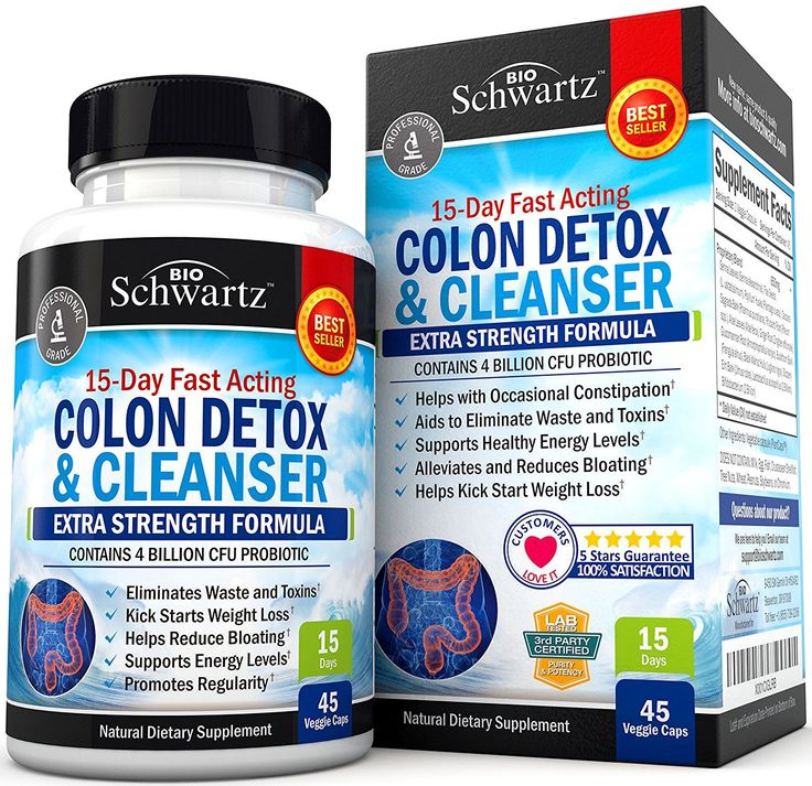 Colon Cleanser & Detox for Weight Loss. 15 Day Extra Strength Detox Cleanse with Probiotic for Constipation ReliefJustine Cabrera