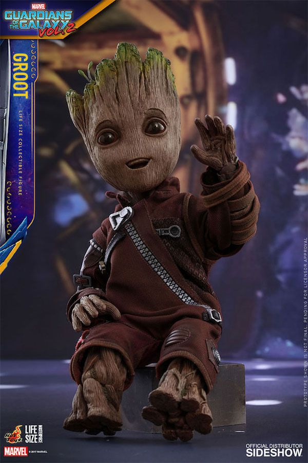 Life-Size Baby Groot Figure Is The Grootiest Groot Figure Of Them All | Nerd Approved - News For Nerds