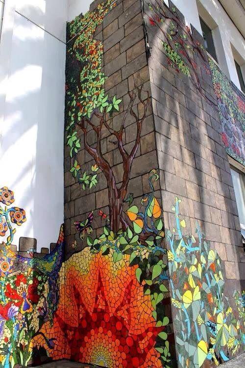 Mosaik Wandgestaltung