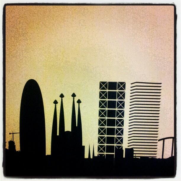 Barcelona skyline <3