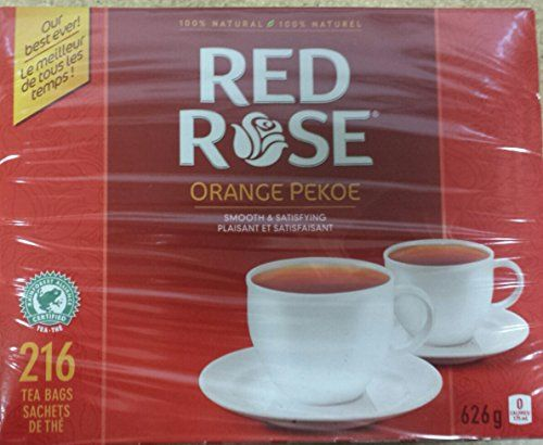 Red Rose Orange Pekoe Tea 216ct 626g You Can Find More Details By Visiting The Image Link This Is An A Orange Pekoe Tea Pekoe Tea Orange Pekoe