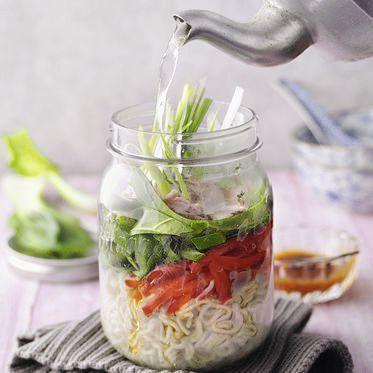 Süßsauer-Suppe mit Schinken und Pak Choi Rezept   Küchengötter