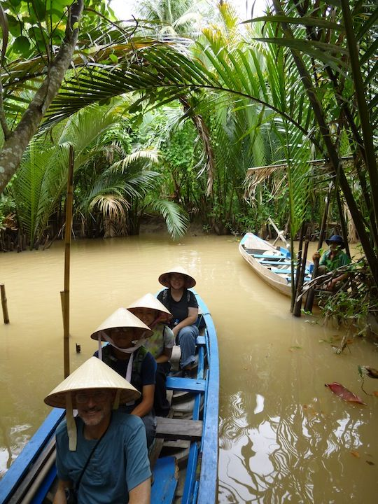 A sampam ride through the Mekong delta...definitely a must-do!