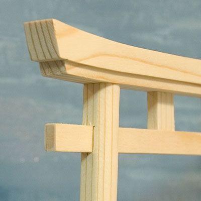 Japan Shinto Shrine Gate – Small Wood Model Torii Tori ...