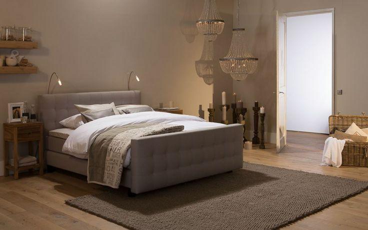 boxspring cambridge - #slaapkamer #romantisch #beige - #goossens, Deco ideeën