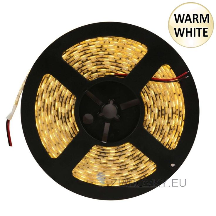Jednofarebný LED pás, SMD 3528, 300 led/5metrov je samolepiaci ohybný LED pás v dĺžke 5-tich metrov. Používa sa ako moderné a designové osvetlenie do interiérov áut, domácností, reštaurácii, barov, osvetlenie reklám, výkladov obchodov, políc, skríň, obrazov a pod. Každý meter LED pásu obsahuje 60 led diód a vyžaruje teplé biele svetlo. Na spodnej strane led pásu je obojstranná samolepiaca páska pre jednoduchú montáž. Pásik je možné deliť podľa svojich požiadaviek.