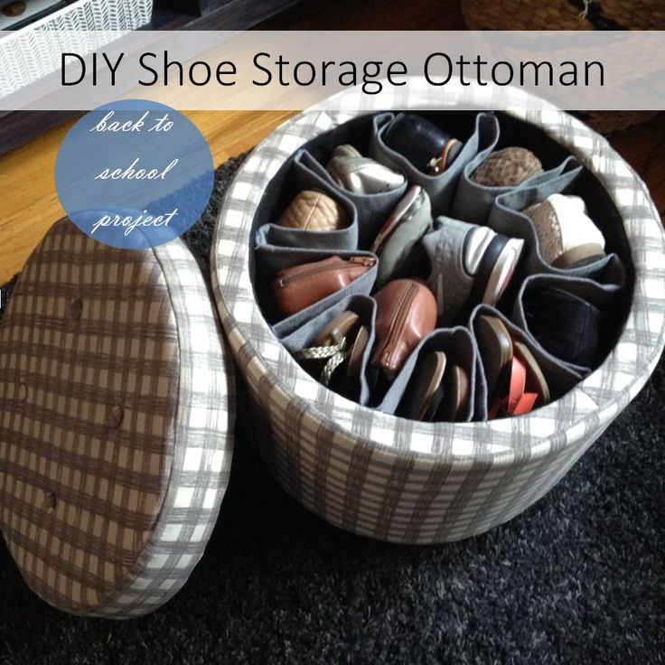 Having enough organized storage in a dorm room or child's room always seems to be at a minimum.  With limited space, things need to do double duty.  I saw a large ottoman in a high end retail store...