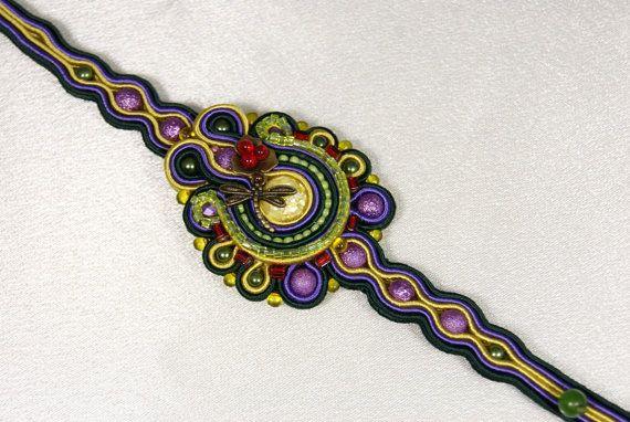 """Soutache Bracelet - """"Color your World"""""""