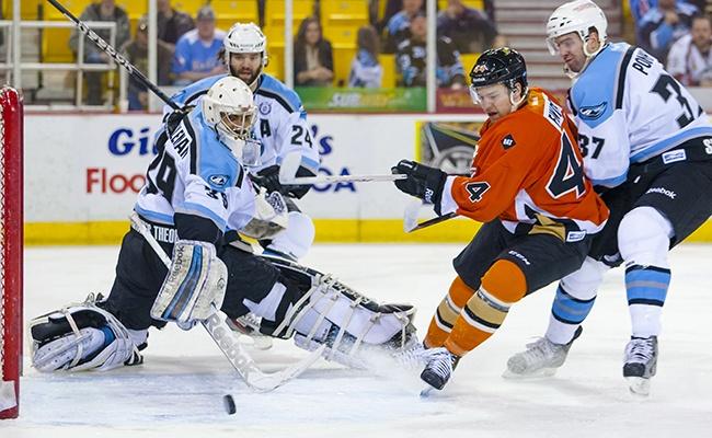 Brett Findlay vs. Alaska Aces April 4