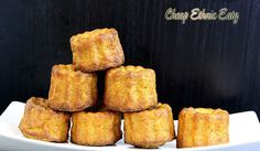 Carrot Curry Canelés, a fusion savory treat