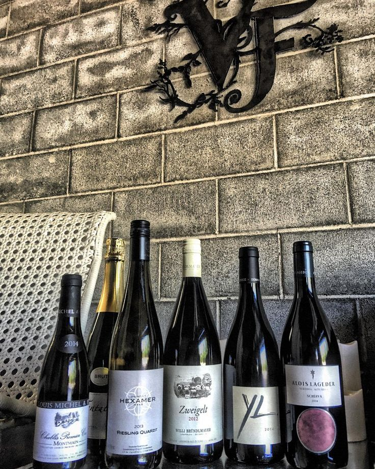 Killer stash delivered today for the Vinum Ferus #wine bar. Bründlmayer in the house. Corsica Premier Cru Chablis and Schiava oh my. Opening July 14th. #winebar #winecountry #visitmcminnville #McMinnville #oregon #oregonwinecountry #WillametteValley #tastingroom #Riesling #Nahe #saber #Crémant #Bourgogne